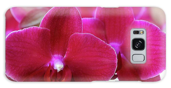 Red Orchid Galaxy Case