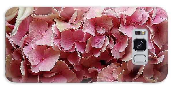 Pink Flowers Galaxy Case