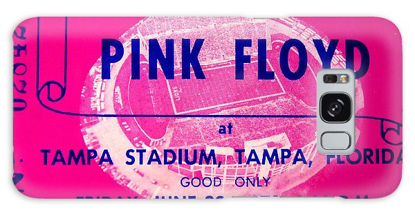 Pink Floyd Concert Ticket 1973 Galaxy Case