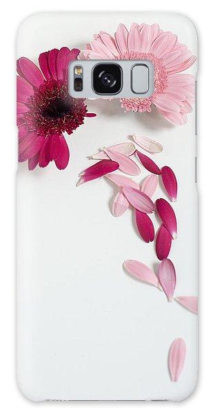 Pink Gerbera Daisies Galaxy Case