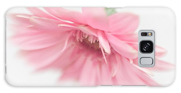 Pink Gerbera Daisy II Galaxy Case by David and Carol Kelly