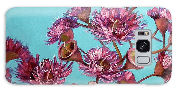 Pink Gum Blossoms Galaxy Case