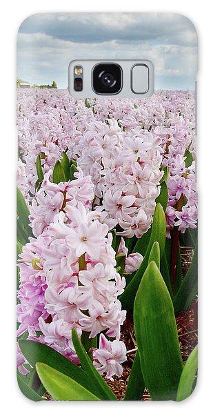 Pink Hyacinth  Galaxy Case by Mihaela Pater