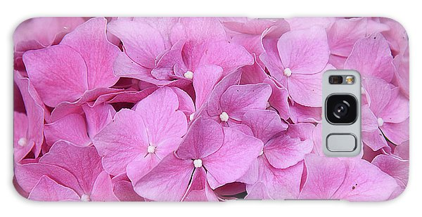 Pink Hydrangea Galaxy Case by Elvira Ladocki
