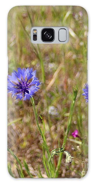 Galaxy Case featuring the photograph Pink In Between by Marie Neder
