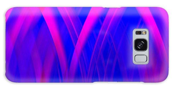 Pink Lacing Galaxy Case by Carolyn Marshall