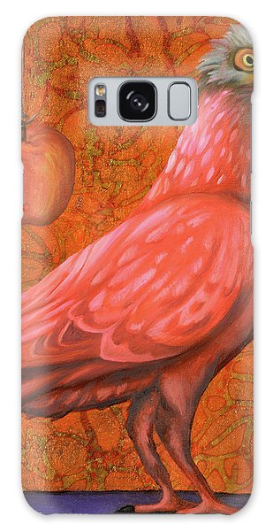 Pink Lady Galaxy Case by Leah Saulnier The Painting Maniac