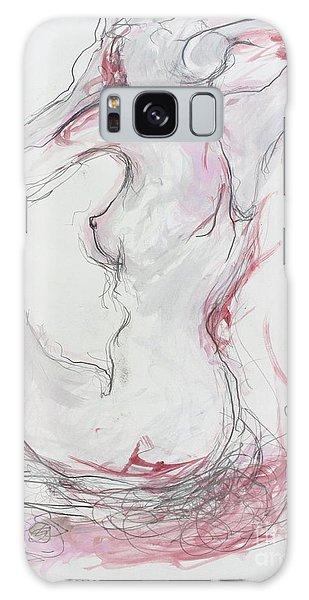 Pink Lady Galaxy Case by Marat Essex