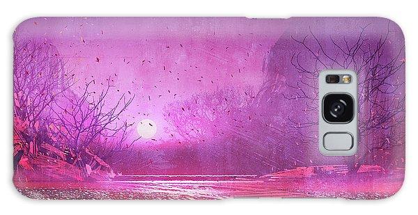 Pink Landscape Galaxy Case