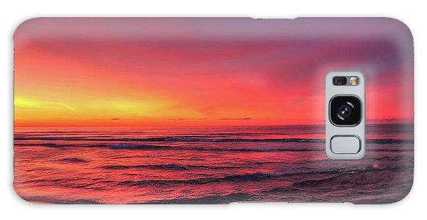 Pink Lbi Sunrise Galaxy Case