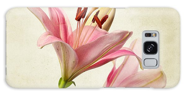 Lily Galaxy S8 Case - Pink Lilies by Nailia Schwarz