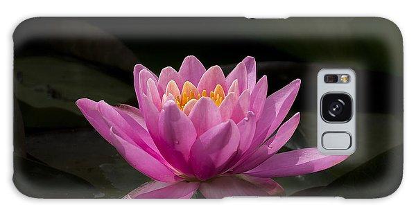 Pink Lotus Galaxy Case