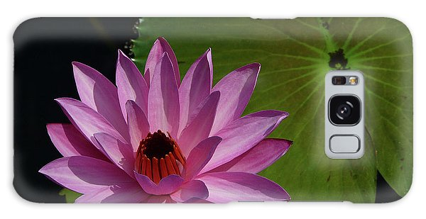 Pink Lotus Galaxy Case by Evelyn Tambour