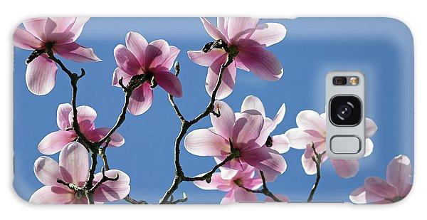Pink Magnolias  Galaxy Case
