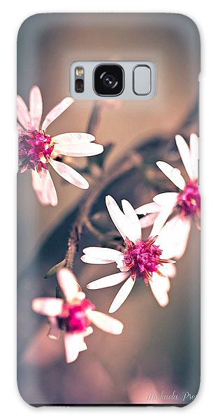 Galaxy Case featuring the photograph Pink by Michaela Preston