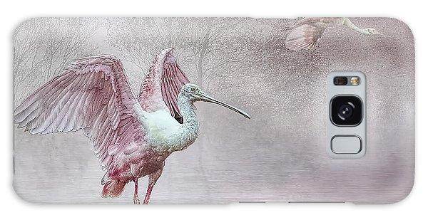 Pink Mist Galaxy Case