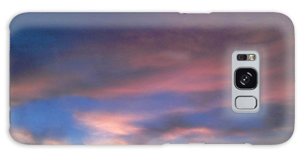Pink Morning Clouds Galaxy Case