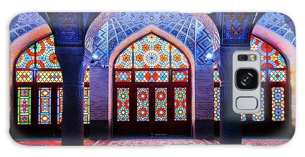 Pink Mosque, Iran Galaxy Case