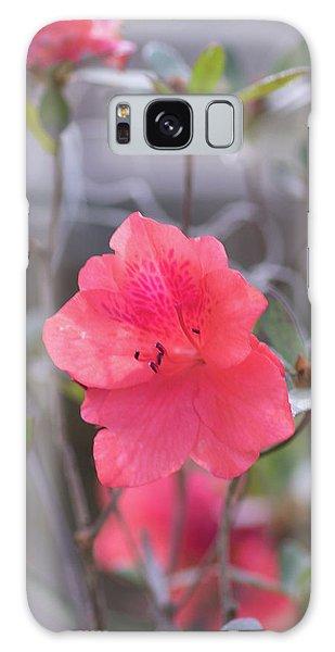 Pink Orange Flower Galaxy Case