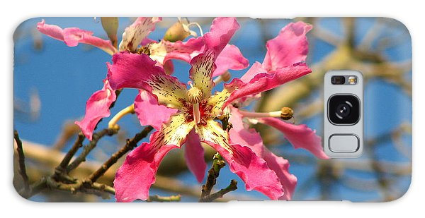 Pink Orchid Tree Galaxy Case