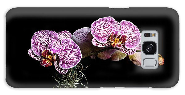 Pink Orchids Galaxy Case