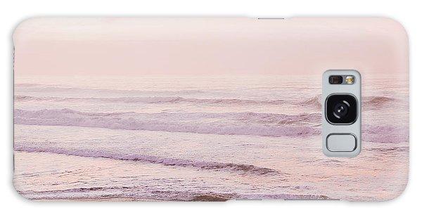 Pink Pacific Beach Galaxy Case by Bonnie Bruno