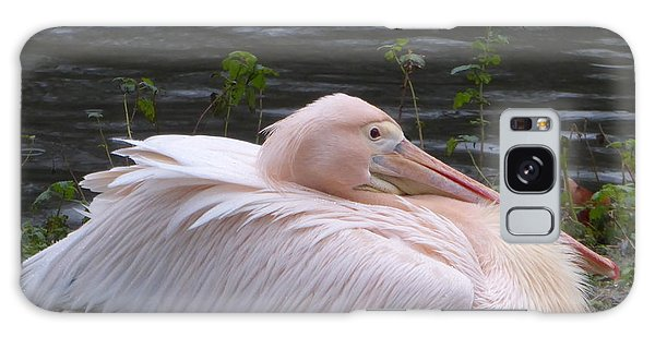 Pink Pelican Galaxy Case by Margaret Brooks