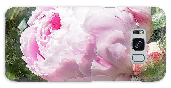 Pink Peony IIl Galaxy Case