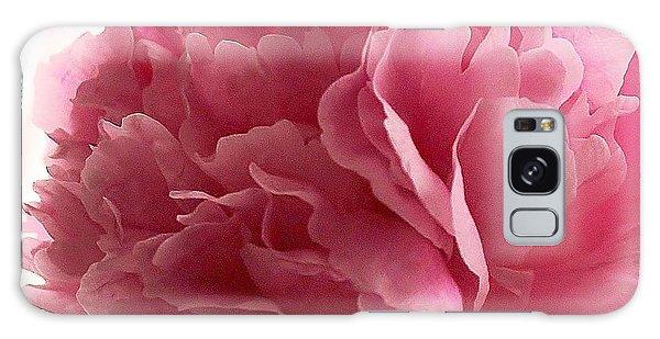 Pink Peony Galaxy Case by Katy Mei