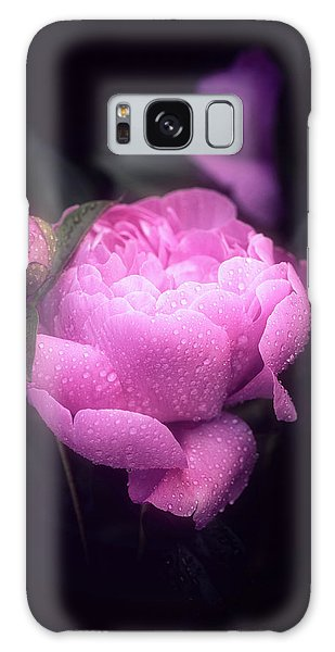 Pink Peony Galaxy Case by Philippe Sainte-Laudy