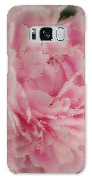 Pink Peony Galaxy Case