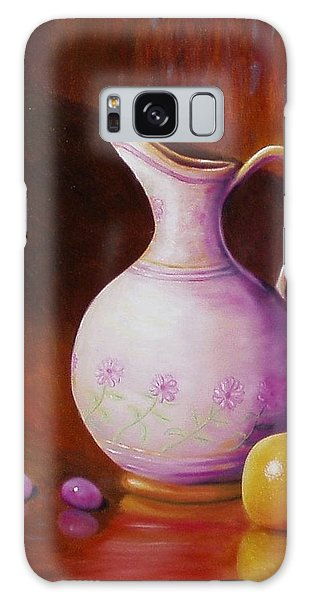 Pink Pitcher Galaxy Case by Gene Gregory