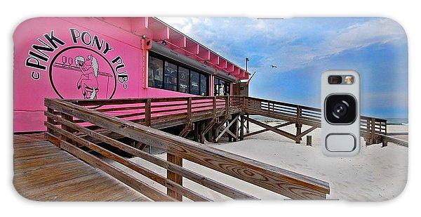 Pink Pony Galaxy Case