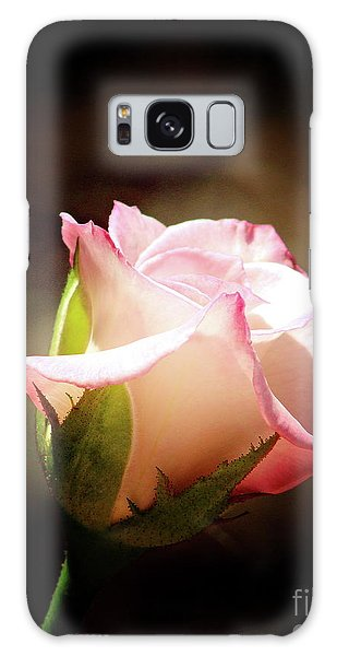 Pink Rose 2 Galaxy Case