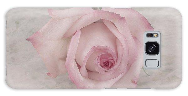 Pink Rose Beauty  Galaxy Case by Sandra Foster