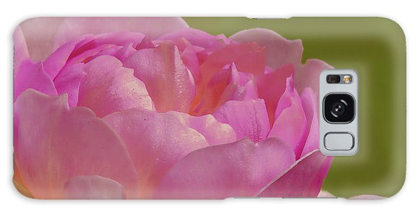 Galaxy Case featuring the photograph Pink Rose #d3 by Leif Sohlman