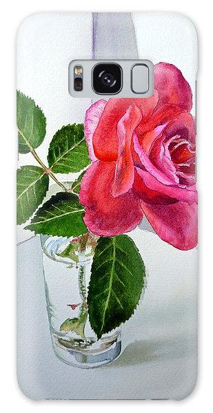 Rose Galaxy Case - Pink Rose by Irina Sztukowski