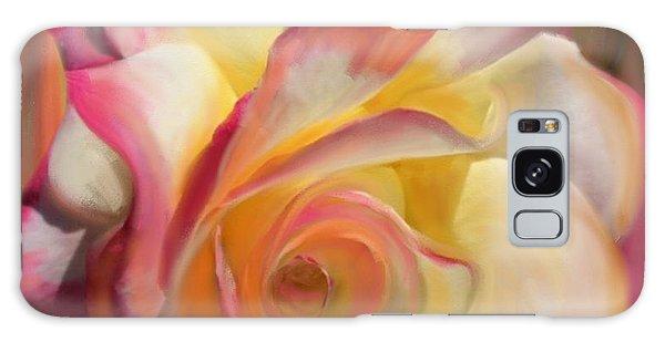 Pink Rose Galaxy Case by Julianne  Ososke