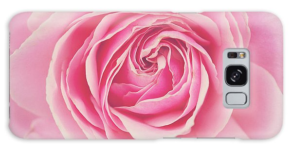 Pink Rose Petals Galaxy Case