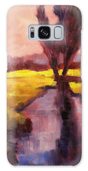 Tint Galaxy Case - Pink Sky Sunset by Nancy Merkle