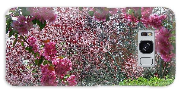 Pink Spring Galaxy Case