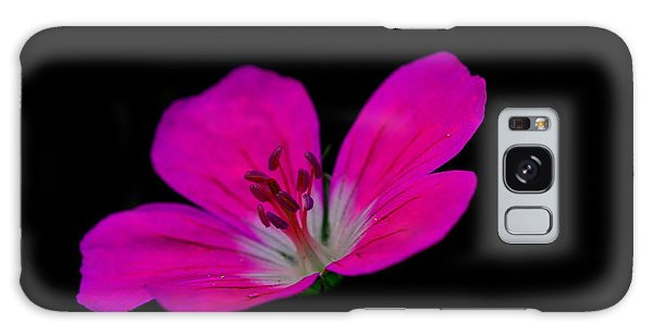 Pink Stamen Galaxy Case by Richard Patmore