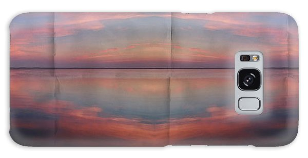 Pink Sunset Galaxy Case