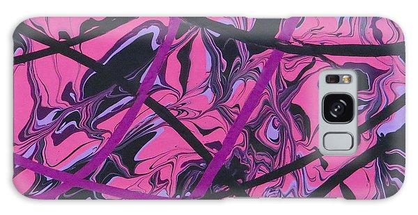 Pink Swirl Galaxy Case