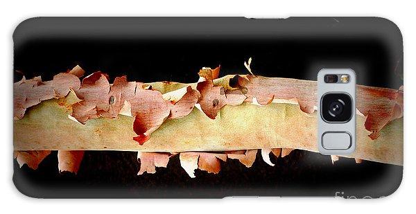 Pink Tree Bark Galaxy Case by Lexa Harpell