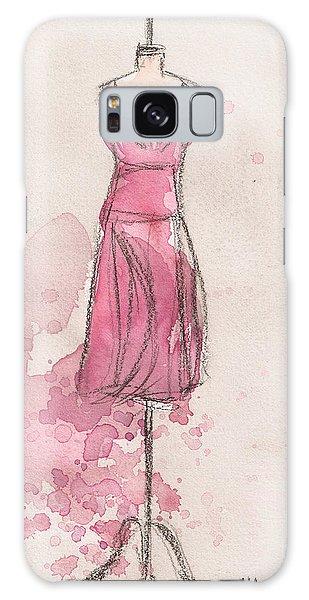 Galaxy Case - Pink Tulip Dress by Lauren Maurer