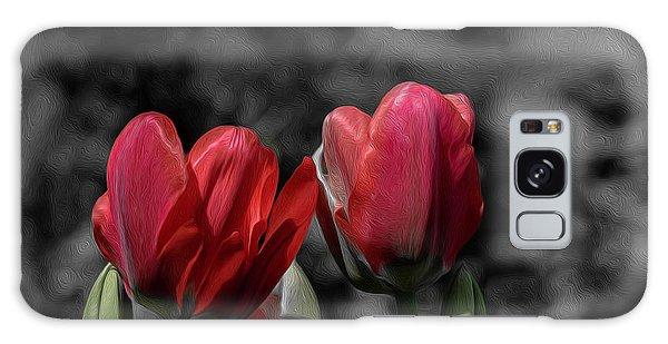 Pink Tulip Pop Galaxy Case