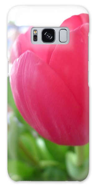 Pink Tulip Galaxy Case