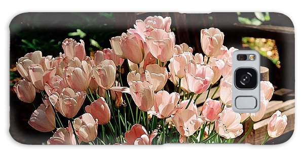 Pink Tulips Galaxy Case