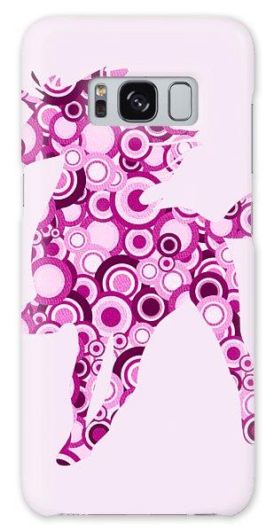 Pink Unicorn - Animal Art Galaxy Case